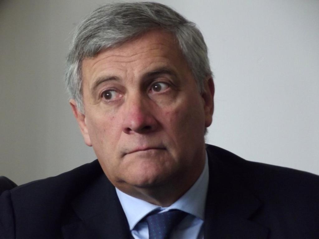 Voorzitter Europees Parlement - Antonio Tajani