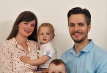 Tessa Jansen en haar gezin