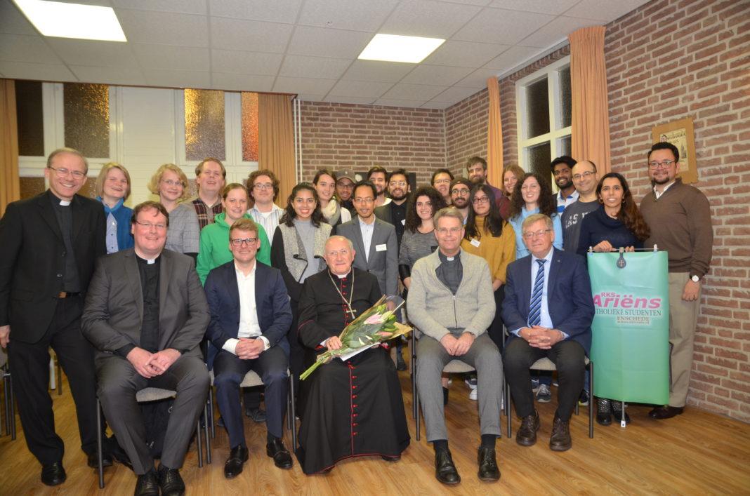 Studentenvereniging Ariëns met nuntius