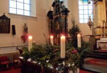 Adventskrans vierde zondag van advent