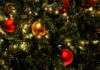 Close-up kerstboom