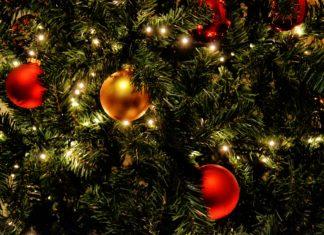 Close-up kerstboom