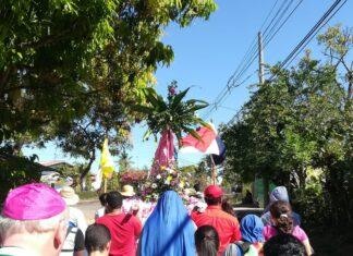 Processie in Panama