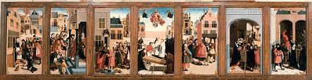 De zeven werken van barmhartigheid: schilderstuk (1504). © Rijksstudio/Rijksmuseum