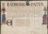 Een zogenaamde 'confessionale' uit circa 1550. Een van de abten van de abdij, Otto van Boetselaer, kreeg samen met enkele andere personen het recht zelf een geschikte biechtvader (confessor) te kiezen die volmacht had om speciale zonden te vergeven of andere voorrechten kreeg.