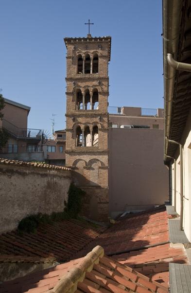Klokkentoren Friezenkerk in Rome. Foto: Wikipedia