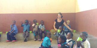Tessa Jansen in Zambia