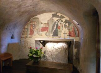 Het heiligdom bij Greccio