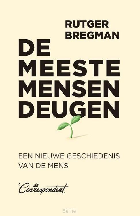 Boek-cover 'De meeste mensen deugen'