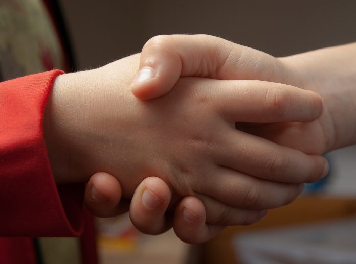 Handenschudden