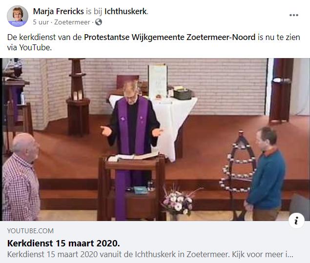 viering Ichtuskerk