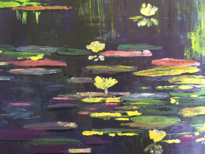 In de tuin van Monet