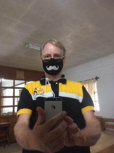 Sinds de vulkaanuitbarsting op 12 januari liepen we in de Filippijnen al met mondkapjes