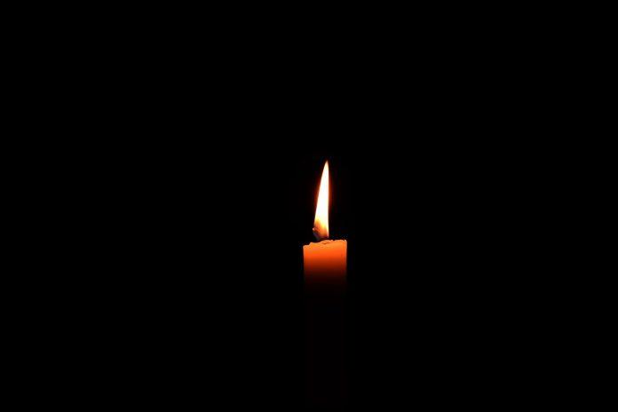 Kaars in het donker