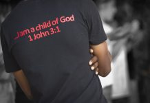 T-shirt 'I am a child of God'