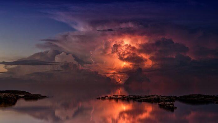 Storm in de verte