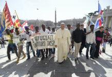 Paus Franciscus. Foto: Osservatore Romano / organisatie Share the Journey Nederland