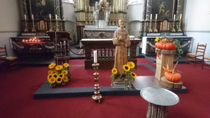 Kloosterkerk franciscanen in Megen