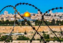 Jeruzalem achter prikkeldraad