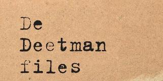 Boekcover De Deetman Files