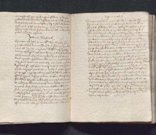 BHIC, 2147 Archief van de bisschop van 's-Hertogenbosch, 1559-circa 1650, inv.nr. 158 scan 23 (rechter pagina)