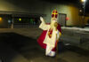 Sinterklaas bezoekt de penitentiaire inrichting in Hünfeld (Bisdom Fulda) © Gefängnisseelsorge JVA Hünfeld/JVA Fulda