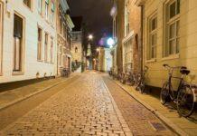 Lege straat