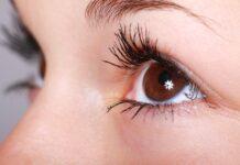 Close-up gezicht vrouw