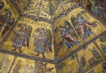 Aartsengelen en engelen (Doopkapel in Florence)
